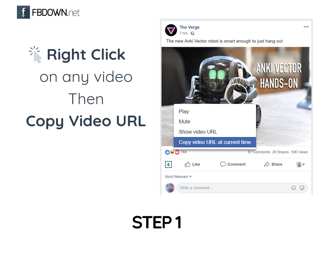 come scaricare video da facebook step 1
